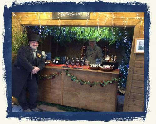 Our Stall At Chatsworth Christmas Market 2017