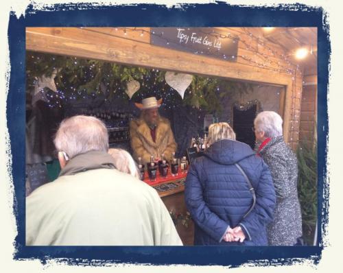 Sales Team At Chatsworth Christmas Market 2018