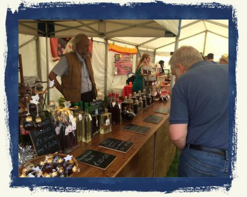 Sales Staff At Ludlow Food Festival 2019