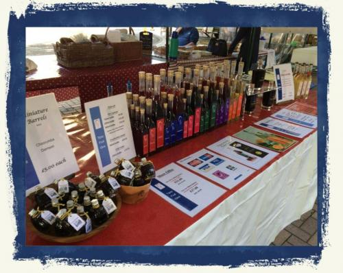 Our Stand At Morton Food Festival 2017