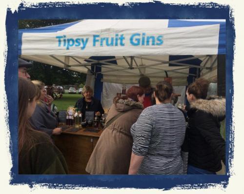 Our stall at Tenbury Applefest 2019