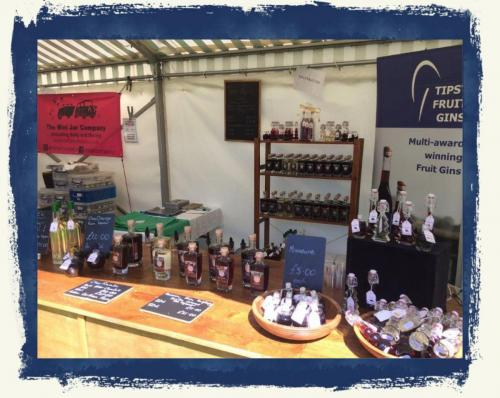 Our Stall At Tewksbury Food Festival 2019